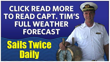 Captain Tim's Weather Blog Update