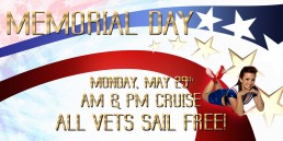 Veterans Sail For Free On Memorial Day