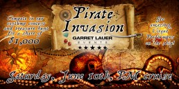 Garret Lauer Pirate Invasion