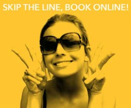 Skip the Line Book Online