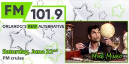 101.9 FM New Alternative Radio with Mike Mineo June 22 PM Cruise