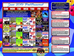 June 1st Live DJ in Big Norm's Club V 7 PM June 2nd Rocky and The Rollers Noon June 3rd Blues Cruise with Derek Trull 7 PM June 4th Highway 1 11 AM June 5th the joe show 11 am June 6th Donna Moore's Diva Legends Show 11am June 7th Rocktown 7 Pm June 8th Spanks 11 am June 8th Fairvilla Fashion Show and Burlesque Show 7 Pm June 9th Note For Note noon cruise June 10th Derek Trull 7 Pm June 11th Rocky and The Rollers 11 am june 12th Non Smoking Cruise 11 AM & 7 PM the joe show 11 AM June 13th donna Moores diva legends show 11 am June 14th Moonlight Drive-In 7 PM June 15th Jared Blake Bigg Vinny and Jared Weeks 11 am and 7 pm June 16th Father's Day Buy 1, Get 1 Champagne Brunch Noon Cruise with Rocky and The Rollers June 17th derek Trull 7 pm June 18th highway 1 11 am June 19th the Joe show 11 am and Birthday Bash all June birthdays sail free today on both cruises. June 20th donna Moores diva legends show 11 am June 22nd The BeatleBeat Beatles Tribute Show 11 AM cruise and FM 101.9 Presents Mike Mineo PM cruise June 23rd Country Songwriters Cruise Featuring Johnny Bulford, Heidi Raye and Chris Gelbuda 24 derek trull 7pm June 25th Highway 1 11 am June 26th the joe show 11 am Non-Smoking Cruise 11 AM & 7 PM june 27th Waylon and Willie True Outlaws Tribute 11 am June 28th Mean Gene and The Rainmakers 7 pm June 29th Latin Night 7 pm June 30th Rocket City noon cruise