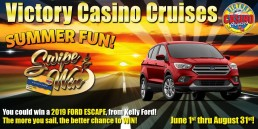 Swipe and Win June 1st thru August 31st Win a 2019 Ford Escape