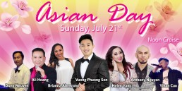 Asian Day July 21st Noon Cruise