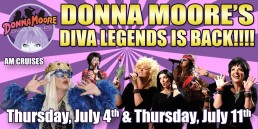 Donna Moore July 4th and 11th AM Cruise