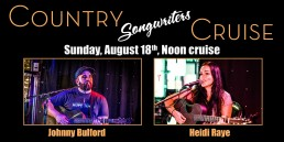 Country Songwriters Featuring Johnny Bulford & Heidi Raye August 18th