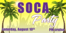 Soca Party August 10th