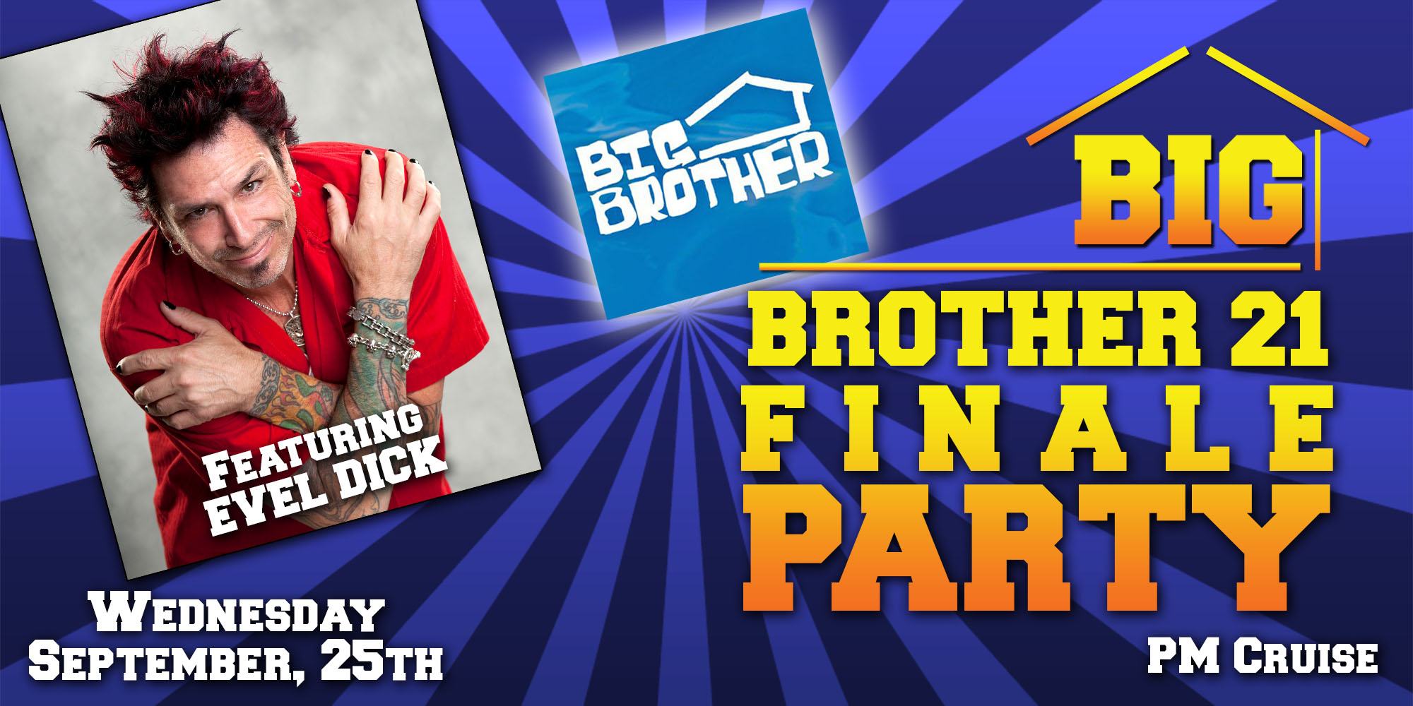 Big Brother Finale Party Featuring Evel Dick | Victory