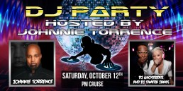 DJ Party October 12th PM cruise