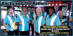 Rocky and The Rollers September 10th and 26th AM cruises