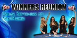 Winners Reunion September 27th AM and PM cruise
